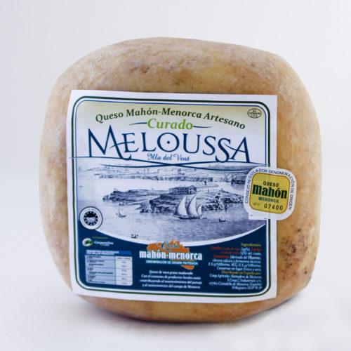 Queso Meloussa curado